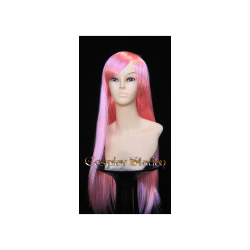 32 Inches Long Pink Cosplay Wig