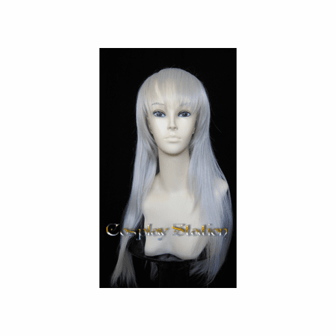 33  Inches Silver Cosplay Wig