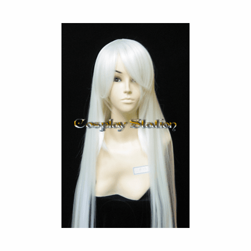 """40 Inches Super Long White Cosplay Wig_<font color=""""red"""">New Arrival!</font>"""