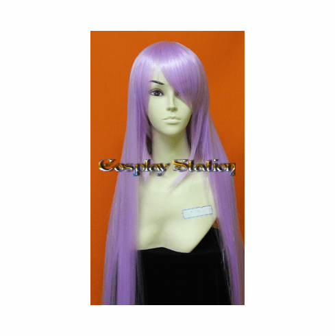 45 Inches Super Long Light Purple Cosplay Wig