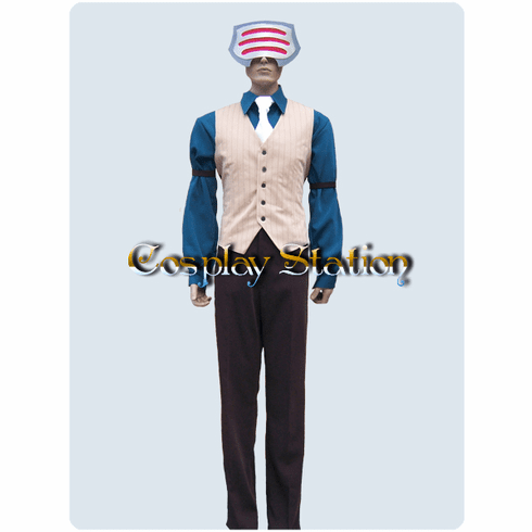 "Ace Attorney Phoenix Wright Godot Cosplay Costume_<font color=""red"">New Arrival!</font>"