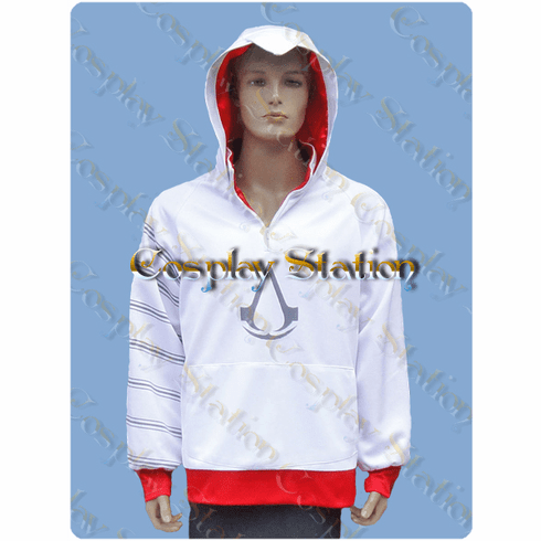 Assassins Creed Hoodie Cosplay Costume