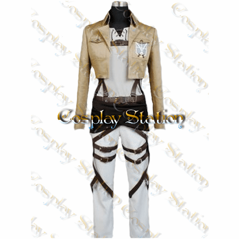 Attack On Titan Trainees Squad Cosplay Outfit