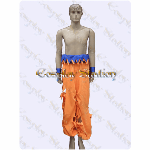 Battle Damaged Goku Custom Made Cosplay Costume: High Quality!