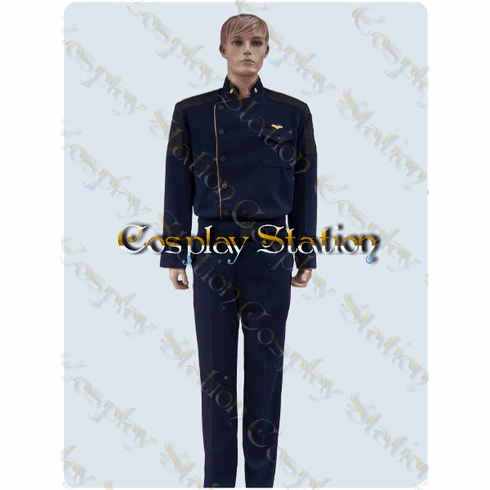 Battlestar Galactica Commander  Cosplay Uniform Costume