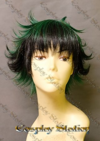 Boku no Hero Academia Izuku Midoriya Custom Made Cosplay Wig