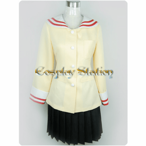 Clannad highschool girl uniform  Cosplay Costume