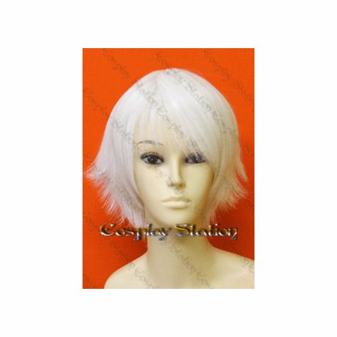 Devil May Cry Cosplay Nero Custom Made White Wig