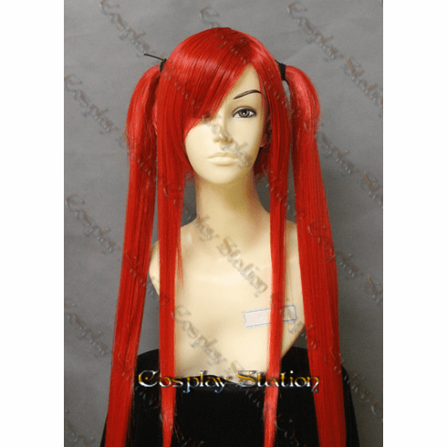 Fairy Tail Erza Scarlet Flame Empress Armor Cosplay Wig
