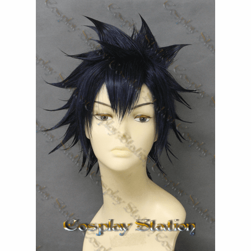Fairy Tail Gray Fullbuster Custom Made Cosplay Wig