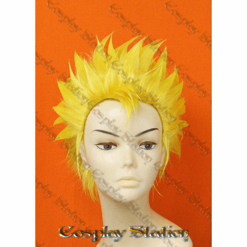 Fairy Tail Laxus Custom Styled Cosplay Wig