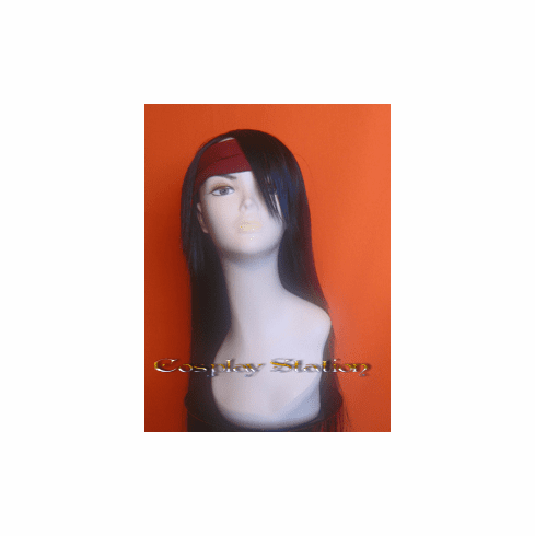 Final Fantasy VII 7 Vincent Valentine Cosplay Wig