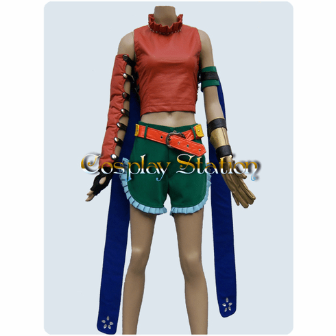 """Final fantasy X-2 Rikku Commission Cosplay Costume_<font color=""""red"""">New Arrival!!</font>"""