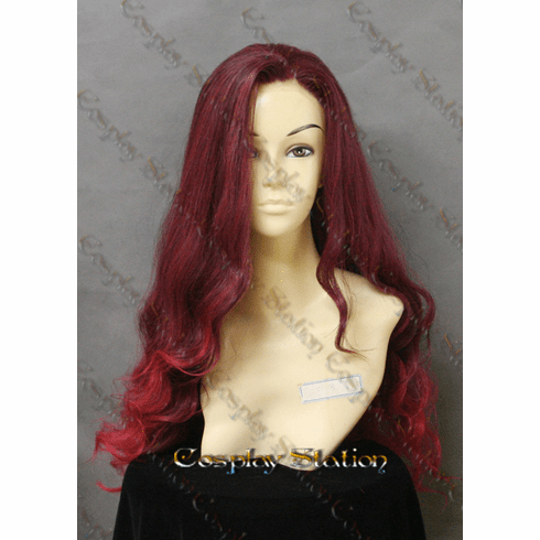 Guardians of the galaxy Gamora LACE FRONT Cosplay Wig