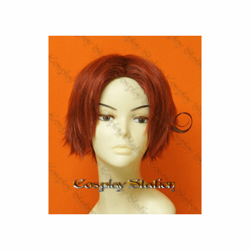 Hetalia Axis Powers Cosplay Italy Custom Made Red Cosplay Wig