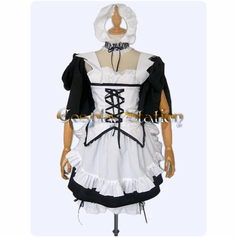 Kaichou Wa Maid-Sasa Commission Cosplay Costume