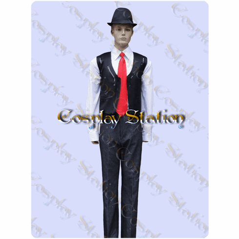 Kamen Rider Double Shotaro Hidari Cosplay Costume