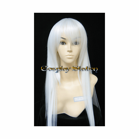 """Katekyo Hitman Reborn! Superbi Squalo White Cosplay Wig_<font color=""""red"""">New Arrival!</font>"""
