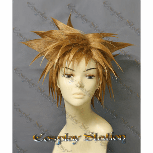 Kingdom Hearts 3 Sora Custom Made Cosplay Wig