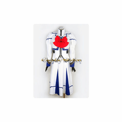 Magical Girl Lyrical Nanoha Nanoha Takamachi Uniform Cosplay Costume