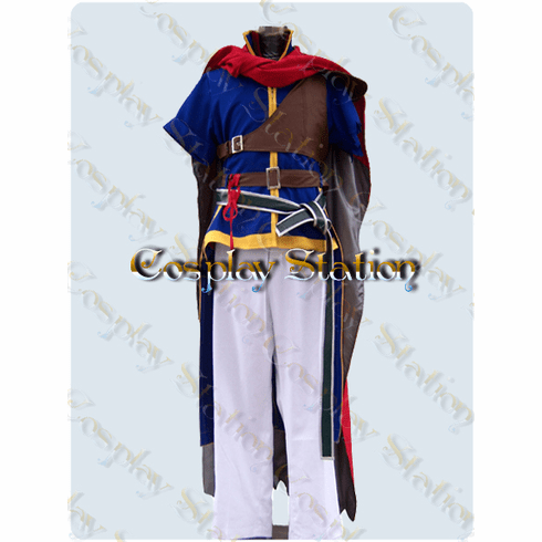 Nintendo Fire Emblem Path of Radiance IKE Cosplay Costume
