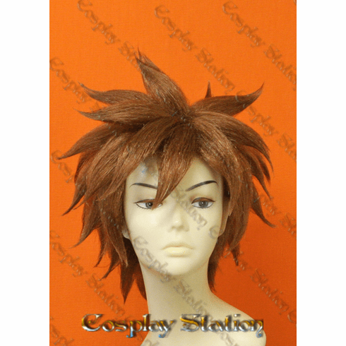 Nintendo Pit Pre-styled Brown Cosplay Wig