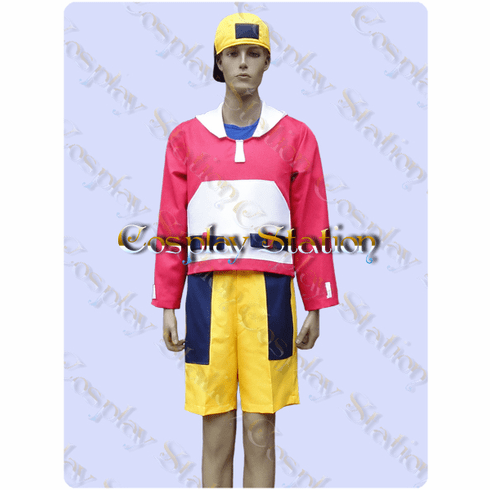 Pokemon Gold Trainer Cosplay Costume