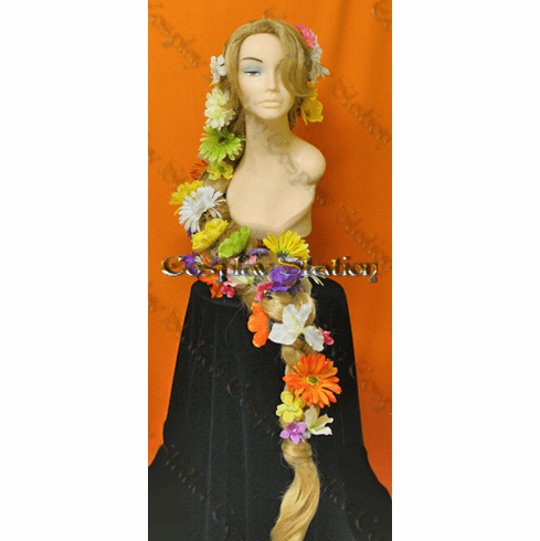 Rapunzel Braided Custom Styled Super Long Wig