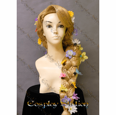 Rapunzel Custom Made Cosplay Wig