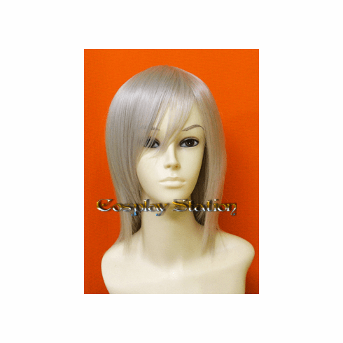 Silver White Short Cosplay Wig