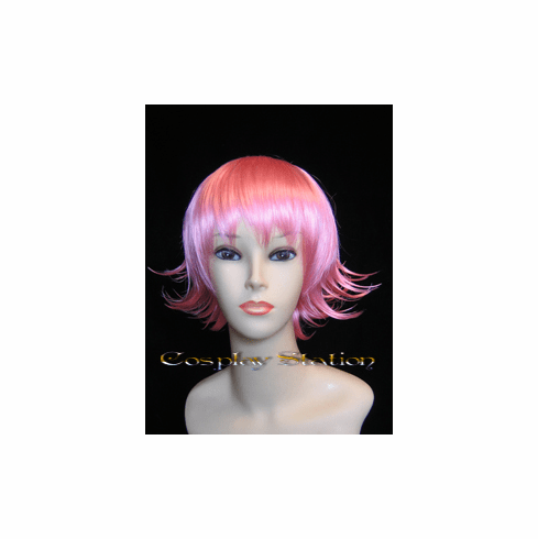 Spiky Short Pink Cosplay Wig