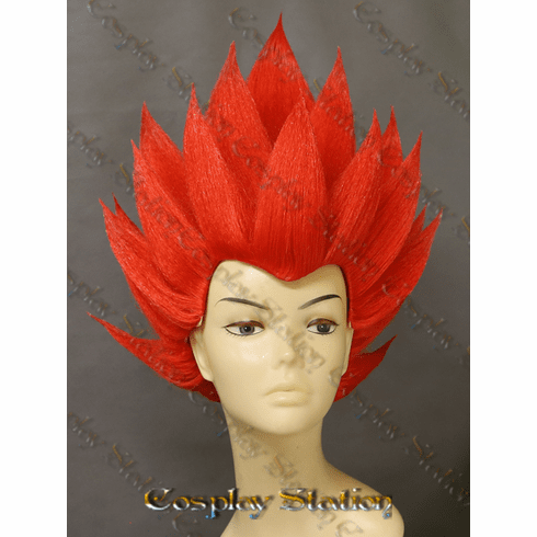 SSJ Red Vegeta Custom Made Cosplay Wig