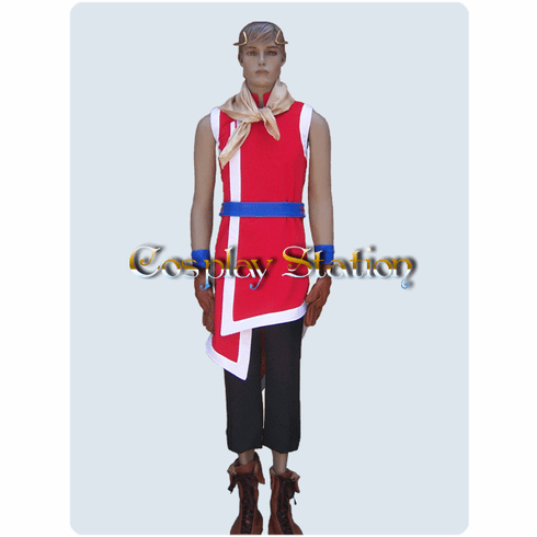 "Suikoden II Cosplay Riou Cosplay Costume_<font color=""red"">New Arrival!</font>"