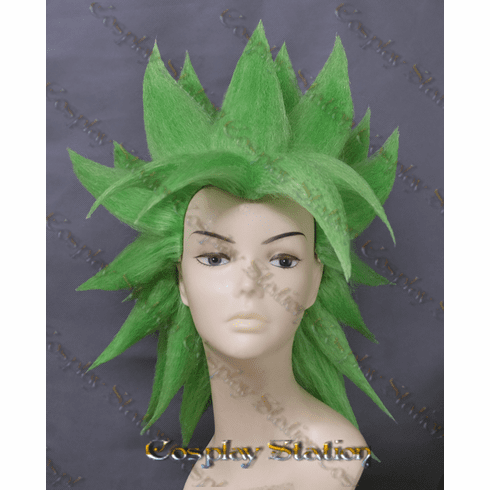 Super Saiyan Broly Custom Made Cosplay Wig