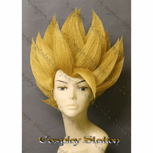 Super Saiyan Cabba Custom Made Cosplay Wig