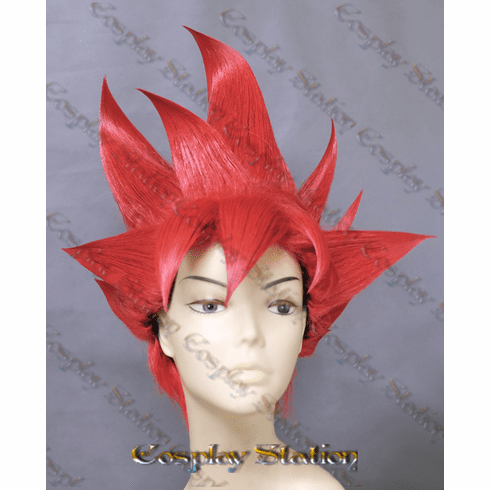 Super Saiyan God Red Goku Wig