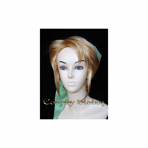 The Legend of Zelda Link Cosplay Wig_New Design!