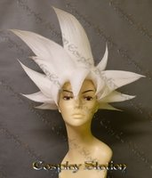 White Ultra Instinct Goku Custom Made Cosplay Wig