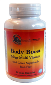 Gout Vitamins Body Boost with Green Superfoods