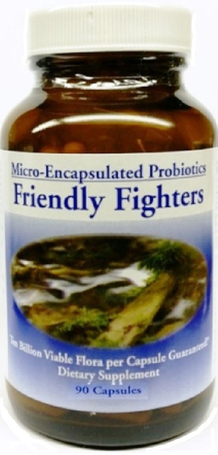 Friendly Fighter® Plus Probiotic - Four Month Supply