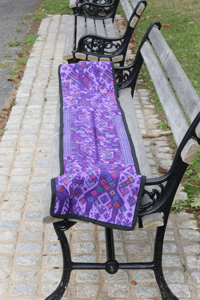 """84"""" X 12"""" Table Runner made of authentic Huipil"""