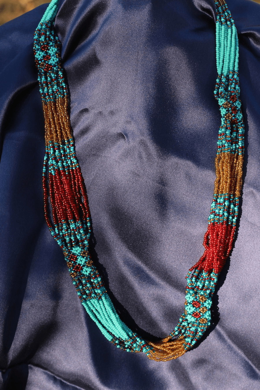 GUATEMALAN BEADED NECKLACE