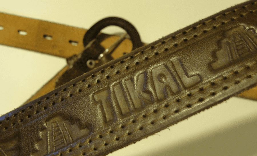 GUATEMALAN LEATHER BELT