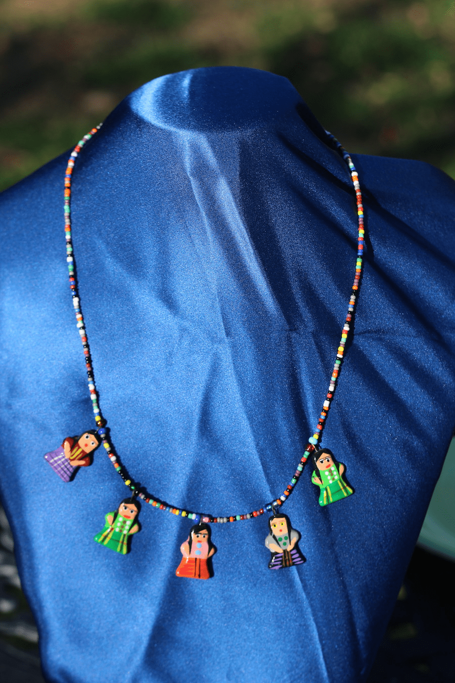 GUATEMALAN NECKLACE - VILLAGE PEOPLE