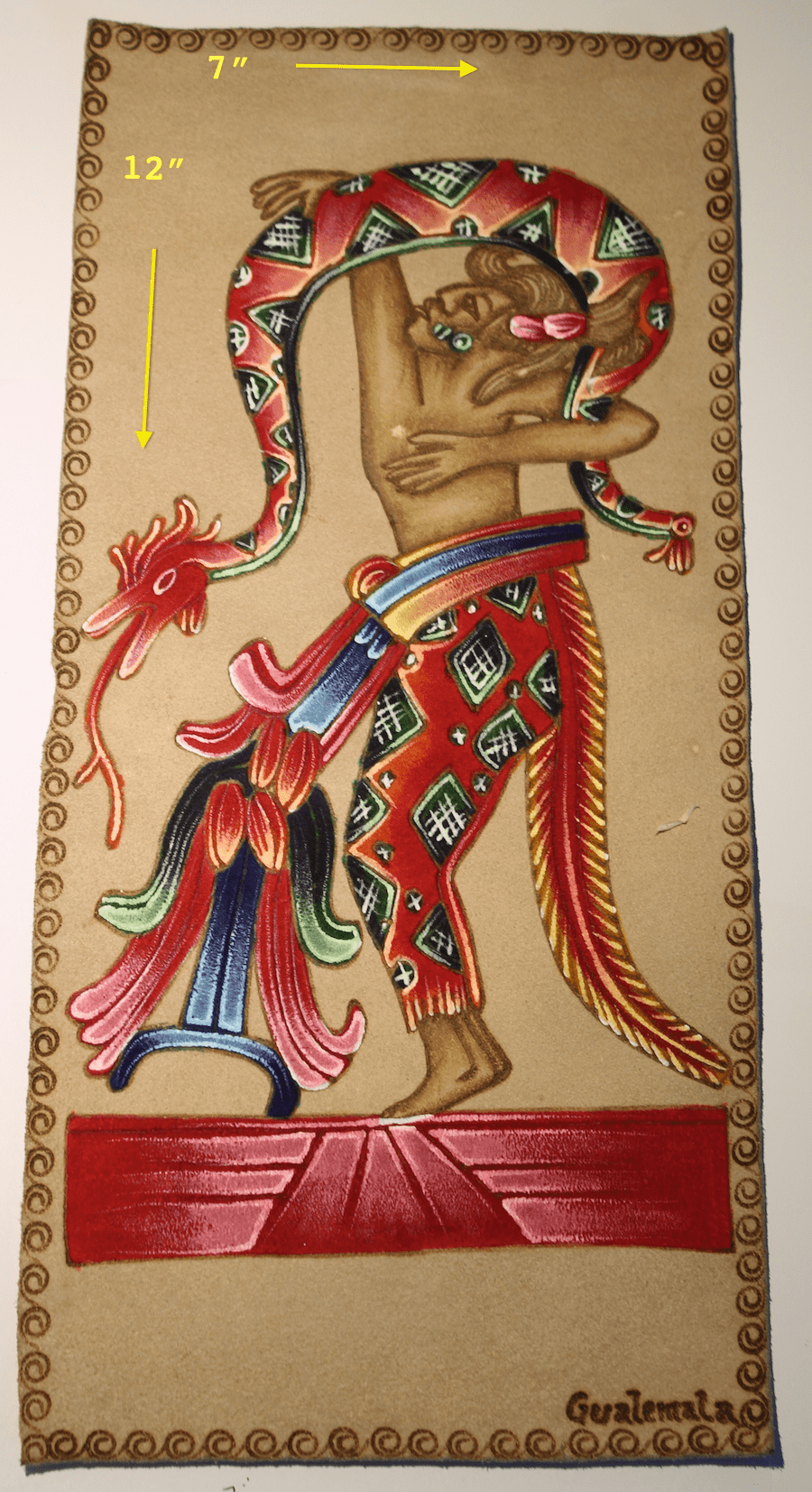 PYROGRAPHY ART - DANCE WITH SERPENT