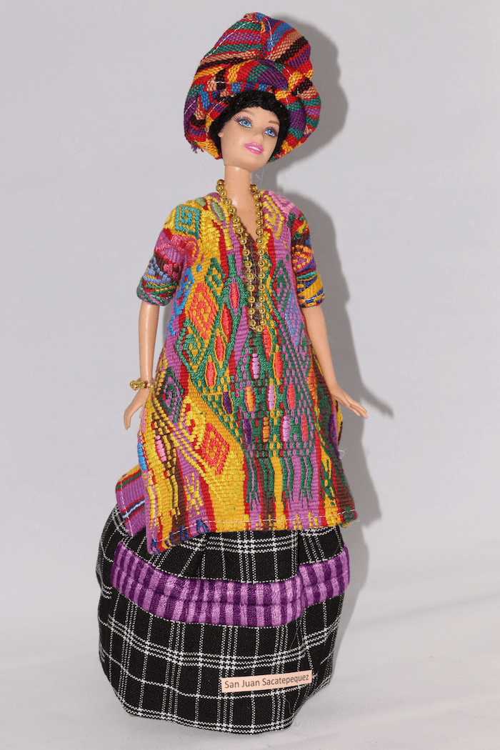 SAN JUAN SACATEPEQUEZ OUTFIT FOR BARBIE DOLL