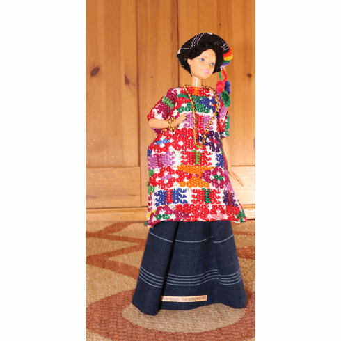 SANTIAGO SACATEPEQUEZ OUTFIT FOR BARBIE DOLL