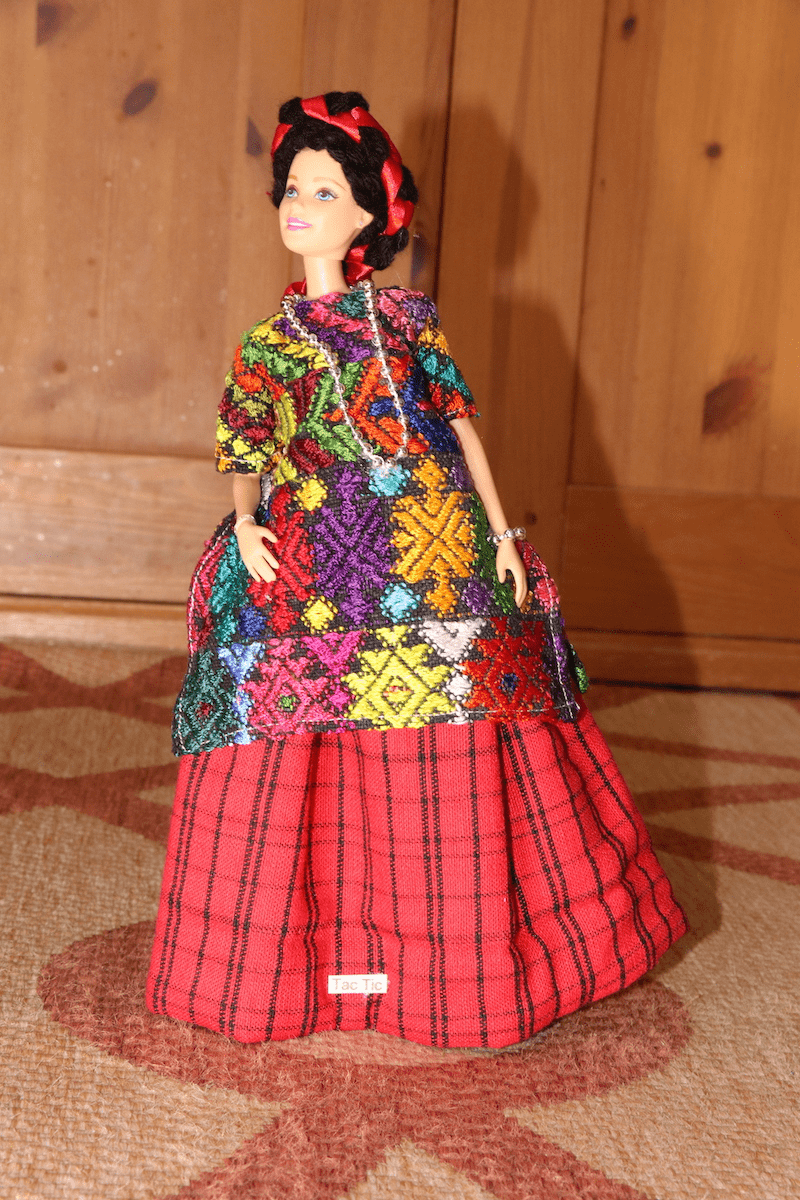 TAC TIC, ALTA VERAPAZ OUTFIT FOR BARBIE DOLL