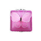 Butterfly Glass Jewelry Box Square Available in 3 Colors
