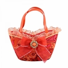 Summer Bliss Makeup Brush Holder Handbag Orange